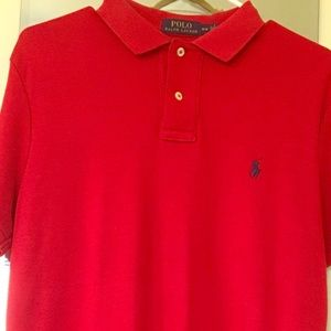 POLO BY RALPH LAUREN Red Polo Sz LG